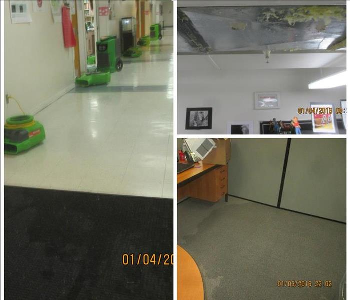 Water Damage at Local School