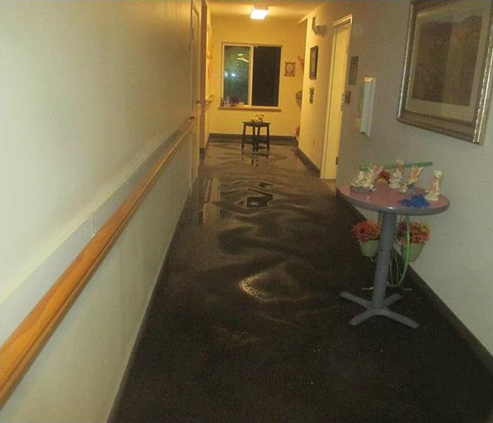 Water Damage in Everett Senior Living Facility