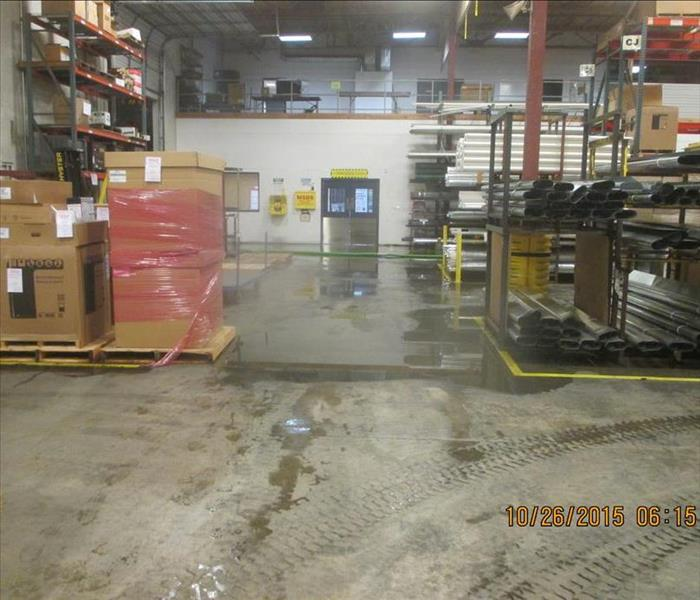 Commercial Water Damage in Everett