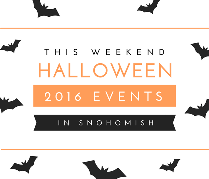 Community Halloween 2016 Events in Snohomish